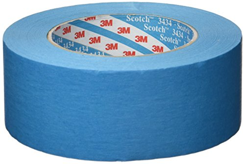 Scotch 07899 Water Resistant Automotive Masking Tape, Blue, 50 mm x 50 m
