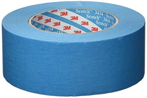 3M Scotch 3434 Blaues Elastikband 110°C, 50mm x 50m, 07899