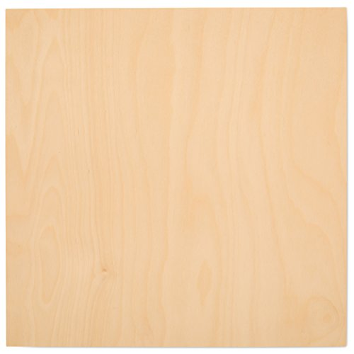 6 mm 1/4 x 12 x 12 Inch Premium Baltic Birch Plywood,...