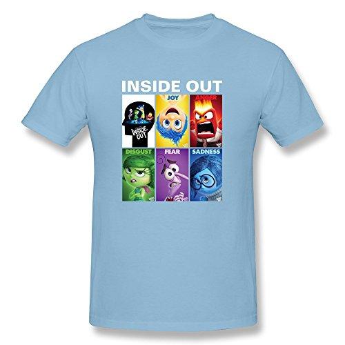 lenoje Hombre Disney–Inside Out Familia Algodón Camisetas