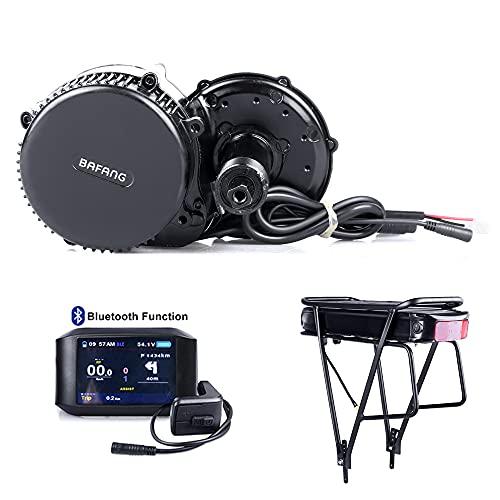 Bafang BBS01B 36V 250W / 350W / 500W Kit de Conversión de Bicicletas Eléctricas, Batería de Tubo descendente Opcional de 36 V 7,8Ah/10Ah/15,6Ah/17,4Ah, batería...