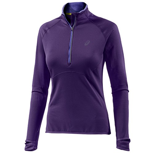 ASICS Performance Camiseta de running para mujer, color lila, talla S