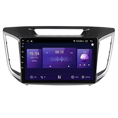 ADMLZQQ Android 10.0 Car Stereo 2 DIN para Hyundai IX25 2015-2019 Navegación GPS Pantalla táctil de 9 Pulgadas MP5 Receptor Soporte BT/Mirror Link/DSP/SWC/FM+Cámara Trasera,7862 4g+WiFi 4+64g