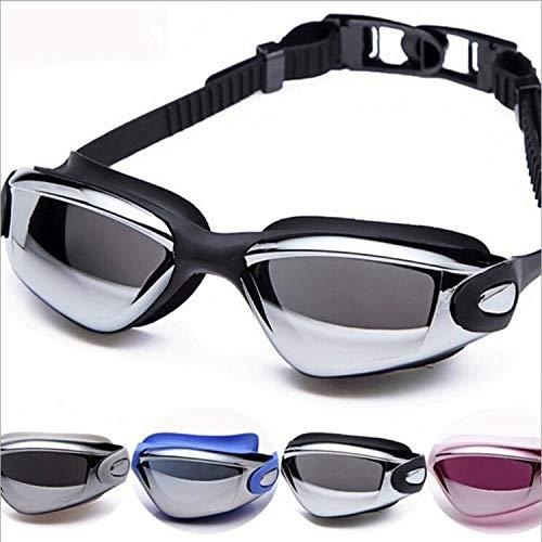 Plating Anti-Fog-Schutzbrille wasserdichte HD Schwimmen Ebene Große Kiste Brille Schutzbrille