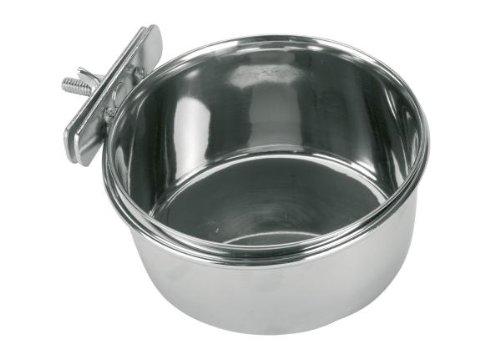 Kerbl Edelstahlnapf 300 ml, 9 cm Schraubbefestigung