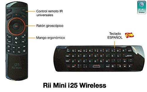 Rii Mini i25 Wireless layout Español - Mini teclado