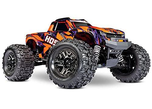 Traxxas Traxxas 90076-4ORNG HOSS Monster-Truck Brushless 1:10 RTR TSM SR VXL-3S - Naranja Auto RC