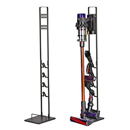 DoubleBlack Soporte para Aspirador Dyson V6/V7/V8/V10 y Accesorios - Negro