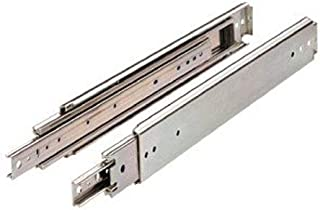 Drawer Slide, Full Extension, 36 in., Heavy Duty, 500 lb. Capacity, Zinc
