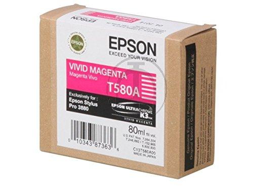Epson Stylus Pro 3880 Designer Edition (T580A / C 13 T 580A00) - original - Inkcartridge magenta - 80ml