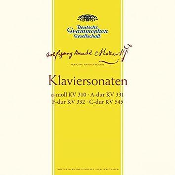 Mozart: Piano Sonatas, K.310; K.331; K.332 & K.545