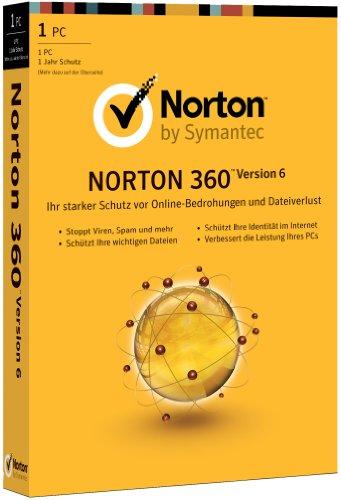 Norton 360 V6 (1 poste, 1 an) [import allemand]