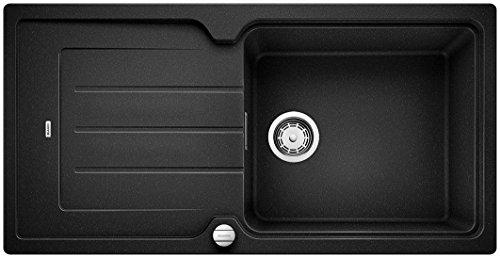BLANCO CLASSIC NEO XL 6 S, Küchenspüle, Granitspüle aus Silgranit PuraDur, 1 Stück, anthrazit-schwarz, 520962
