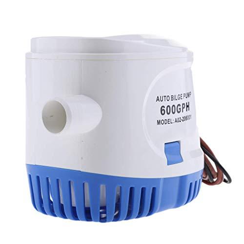 Tubayia 24V Marine Automatische Bilgenpumpe Auto Bilge Wasserpumpe mit Schwimmerschalter