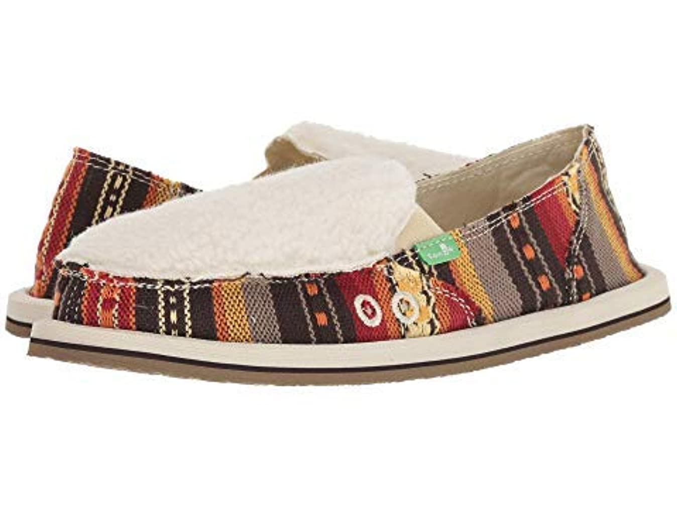 ライオネルグリーンストリートあらゆる種類のキリスト教レディースローファー?靴 Donna Sherpa Blanket Molten Lava Blanket (26cm) B - Medium [並行輸入品]