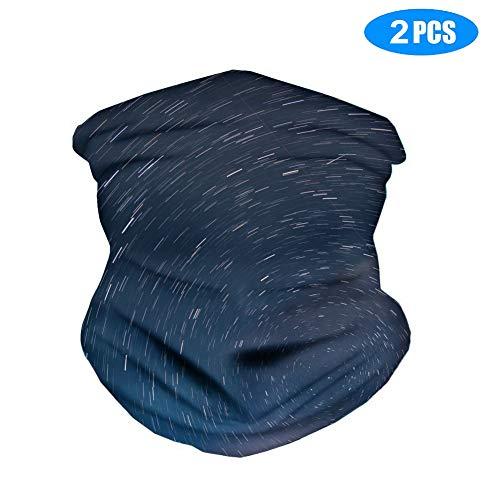 Bandana Schlauchschal Multifunktionstuch Halstuch verhindert Tröpfchen, atmungsaktiv, staubdicht, Outdoor-Gesichtsschutz für Damen und Herren L 4