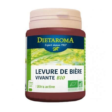 Levure de biere vivante Bio Eco- 180 gelules Dietaroma