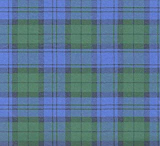 Blue & Green Tartan Plaid Tissue Wrapping Paper-20 Sheets