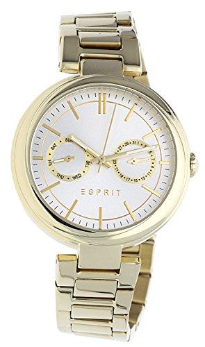 ESPRIT Damen Chronograph Quarz Smart Watch Armbanduhr mit Edelstahl Armband ES109512004
