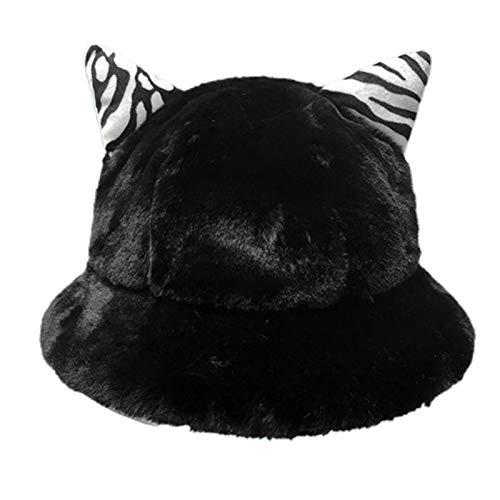 VVXXMO Las mujeres engrosan el sombrero de la bóveda de la felpa...