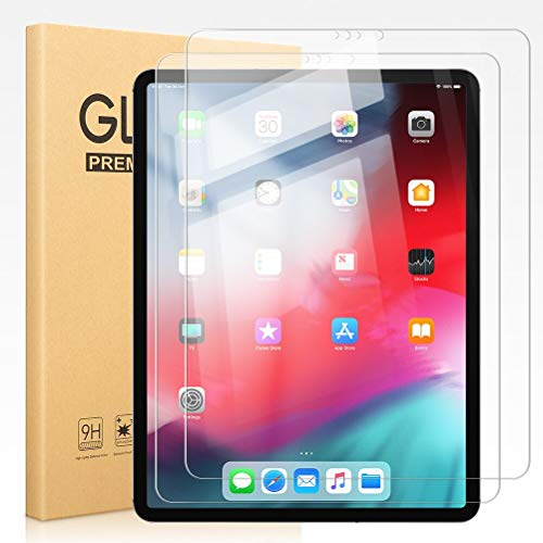 Pnakqil [2 Pack] Screen Protector for Apple iPad Pro 11 2018/2020 Clear Tempered Glass Flim [Bubble-Free] [Anti-Scratch] Easy Installation Original Screen Protectors for Apple iPad Pro 11 2018/2020