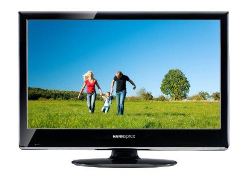 Hannspree SJ19DMAB 47 cm (18,5 Zoll) 16:9 HD-Ready LCD-Fernseher mit integriertem DVB-T Tuner schwarz