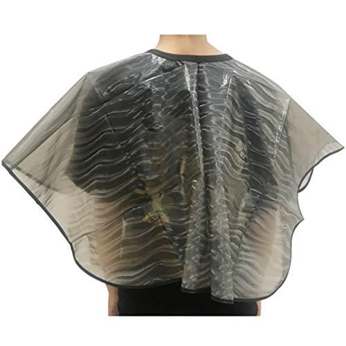 PRETYZOOM Salon de Coiffure Cape Jetable Barbier Coiffure Coiffure Coupe de Cheveux Tissu Bavoir de Maquillage pour Le Rasage Coupe Style Coloration
