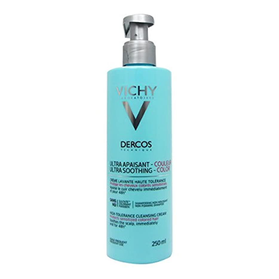 踏み台警報アブストラクトDercos Smoothing Hair Care Cream Dyed Hair 250ml [並行輸入品]