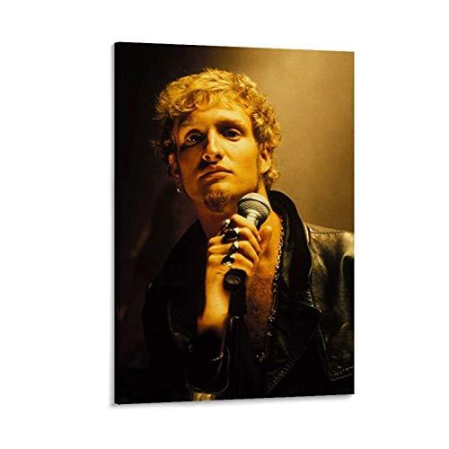 Poster di Alice in Chains Layne Staley - Quadro decorativo su tela, per soggiorno, camera da letto, 60 x 90 cm