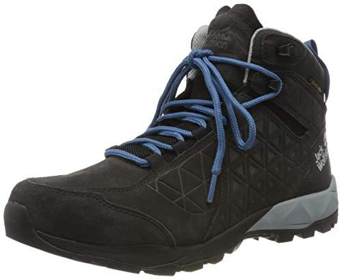 Jack Wolfskin Herren Cascade Hike LT Texapore MID M Walking-Schuh, Phantom/Blue, 42 EU