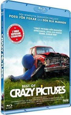 Best of Crazy Pictures ( DEN BLÅ MANNEN / Övertidskrig / Ta Mig / Miljön / Tiggaren / Negerboll / Generation Krig / Kuken Brinner / Du Ritar Fult / Nakenlekar ) ( The Blue Man / Ov [ Origine Svedese, Nessuna Lingua Italiana ] (Blu-Ray)
