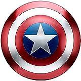 Capitán América Escudo de Metal Niños/Adultos 1: 1 Modelo de aleación de Mano Adulto Cosplay Escudo 75 Aniversario Colección Gloria 47Cm Edición clásica