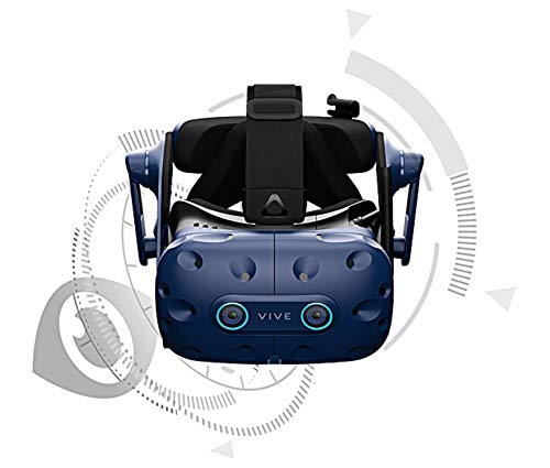 HTC VIVE Pro EYE Propel Your Business with Precision Eye Tracking. (VIVE Pro EYE)
