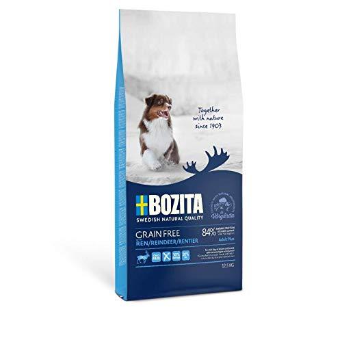 Bozita Grain Free Rentier 12,5 kg   Hundetrockenfutter aus Schweden ohne Getreide