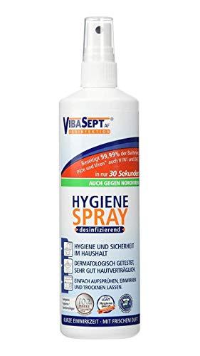 Hygiene-Spray Desinfektionsmittel (für Textilien und Oberflächen im Haushalt, Sprühflasche im praktischen Vorteilspack) 3 x 250 ml