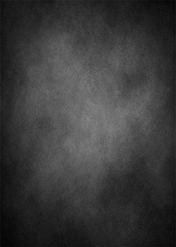 YongFoto 1x1,5m Vinilo Fondos Fotograficos Abstracto Negro Gris Vendimia Grunge Sólido Textura Pared Fondos para Fotografia Fiesta Niños Boby Retrato Personal Estudio Fotográfico Accesorios