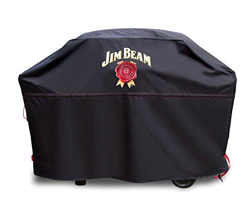 Jim Beam Premium-Grillabdeckung V2.0 M/L JB0304, Schwarz
