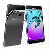 NEW'C Funda para Samsung Galaxy A5 2016, Anti- Choques y Anti- Arañazos, Silicona TPU, HD Clara