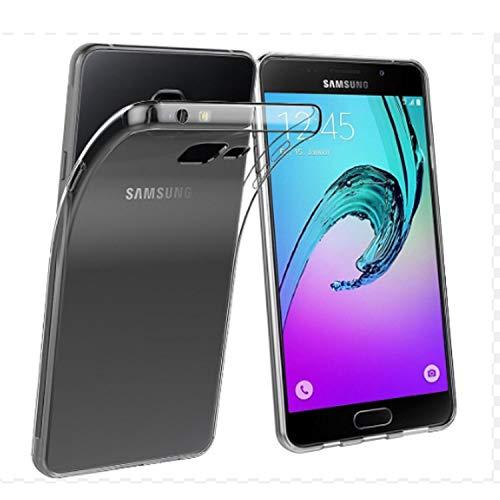 NEW'C Cover Compatibile con Samsung Galaxy A5 2016, Custodia Gel Trasparente Morbida Silicone Sottile TPU [Ultra Leggera e Chiaro]