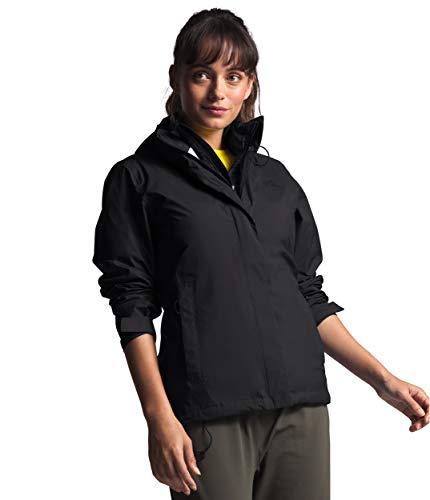 The North Face Women's VENTURE 2 JACKET, Tnf Black/tnf Black, Extra Small