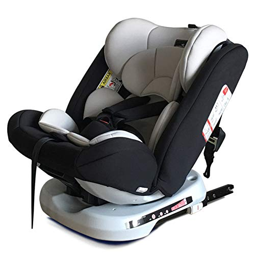 PTHZ El Asiento del automóvil Puede Ajustar el Asiento para niños, y el Asiento para niños del automóvil está Instalado en la dirección Delantera y inversa,Negro