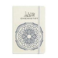 中国の青い花のパターン 化学手帳クラシックジャーナル日記A 5