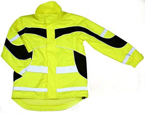 Equisafety - Giacca leggera impermeabile Aspey, Unisex - Adulto, Accessori Equestri, EQY0460, Giacca impermeabile leggera ad alta visibilità., L