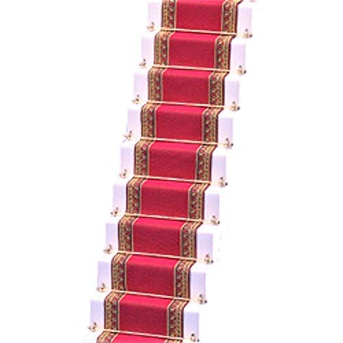 Melody Jane Casa de Muñecas Tejido Alfombra de Escalera Rosa Oscuro Miniatura Suelo