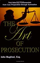 Best the art of prosecution Reviews
