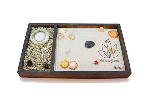 Jardin zen para Interior de Hogar o para la Decoracion en estilo Feng shui ॐ Zensimongardens®