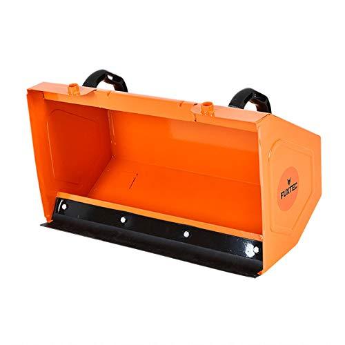 FUXTEC Kehrgutsammelbehälter KMB196 passend für Benzin Kehrmaschine Räumgerät Kehrbürste KM196