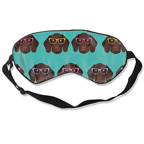 Schlafmaske für Männer Seidenaugenmaske Weiche Augenabdeckung für Good Night\'s Rest Fashion Pattern