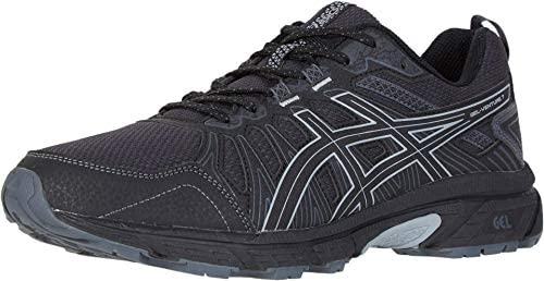 ASICS Men s Gel Venture 7 Running Shoes 12M Black Sheet Rock product image