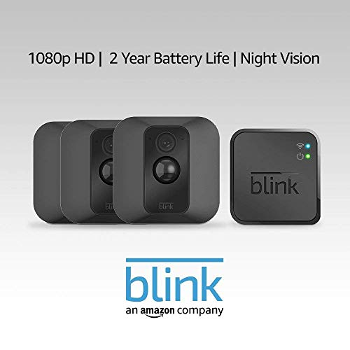 Blink XT Home Security Camera System - 3 Camera Kit - 1st Gen
